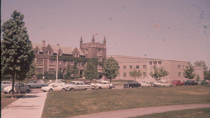 A vintage photo of McMaster University
